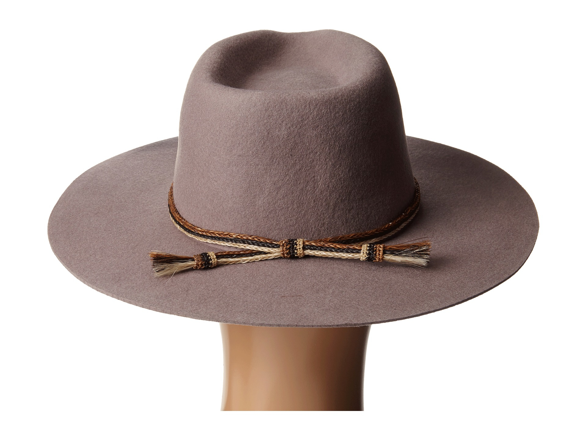 30f75a12fde23 ... get lyst brixton leonard hat in gray 9a79b f18e7