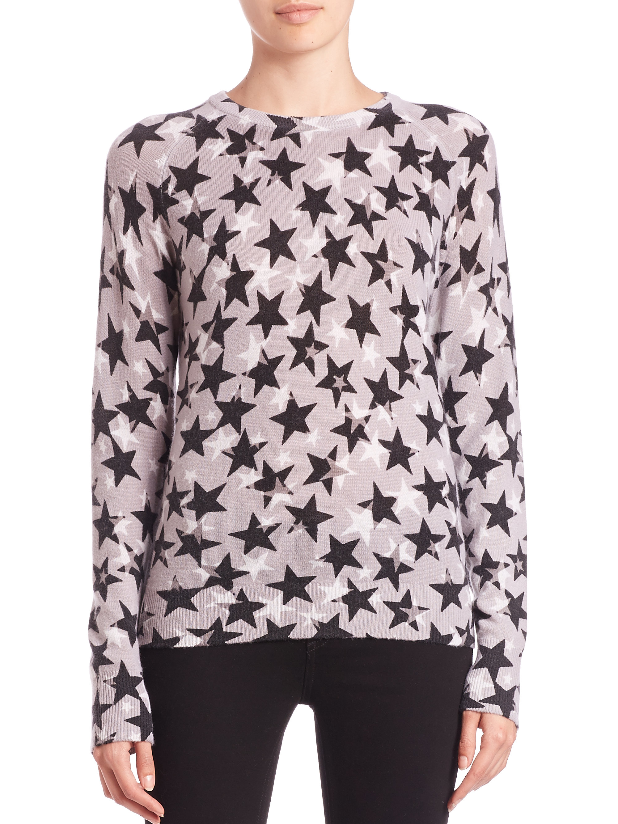 Equipment Sloane Star-print Cashmere Sweater | Lyst