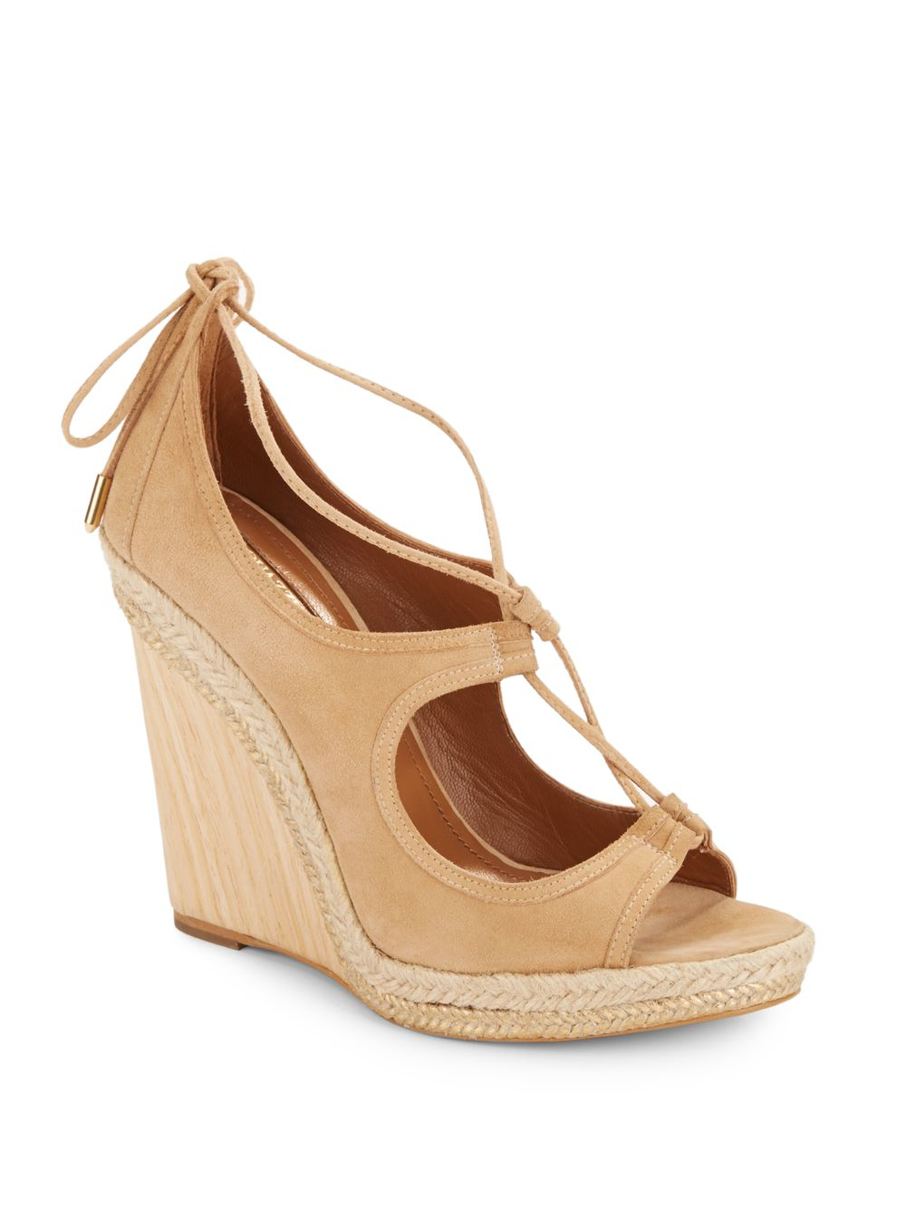 Aquazzura Christy Espadrille Wedges pay with paypal for sale discount low shipping fee clearance tumblr BxRUj2