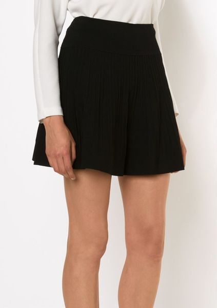 opening ceremony a line mini skirt in black lyst