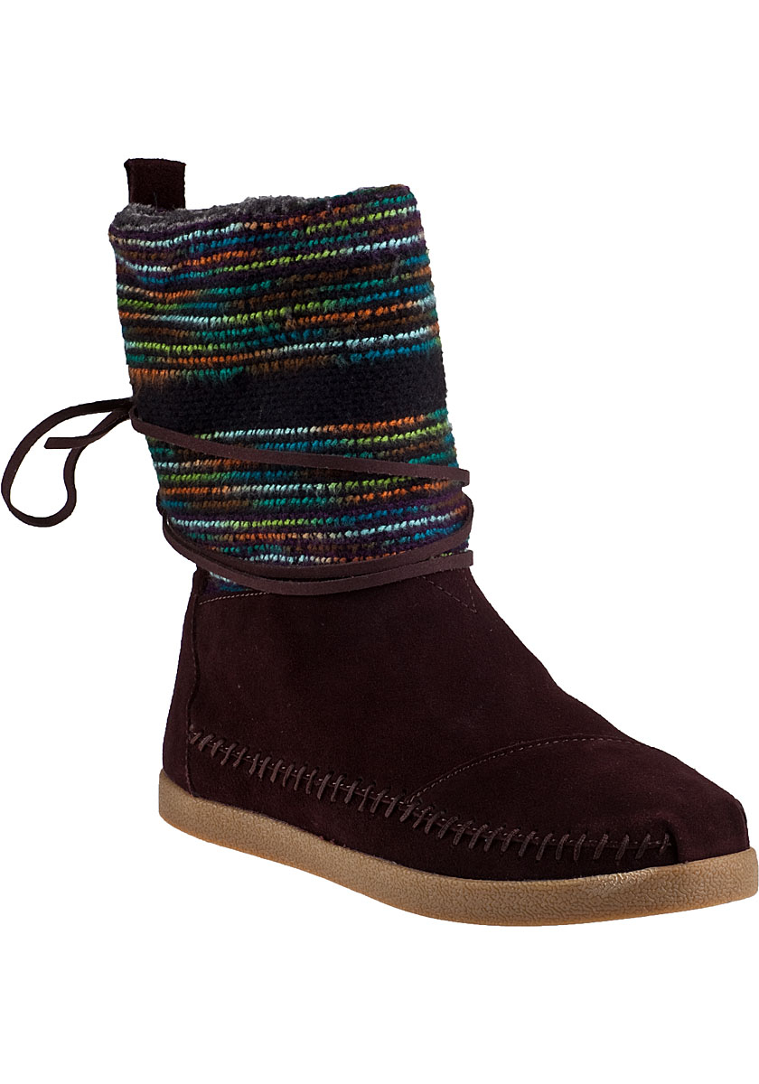 Toms Nepal Boot Brown Suede In Brown | Lyst