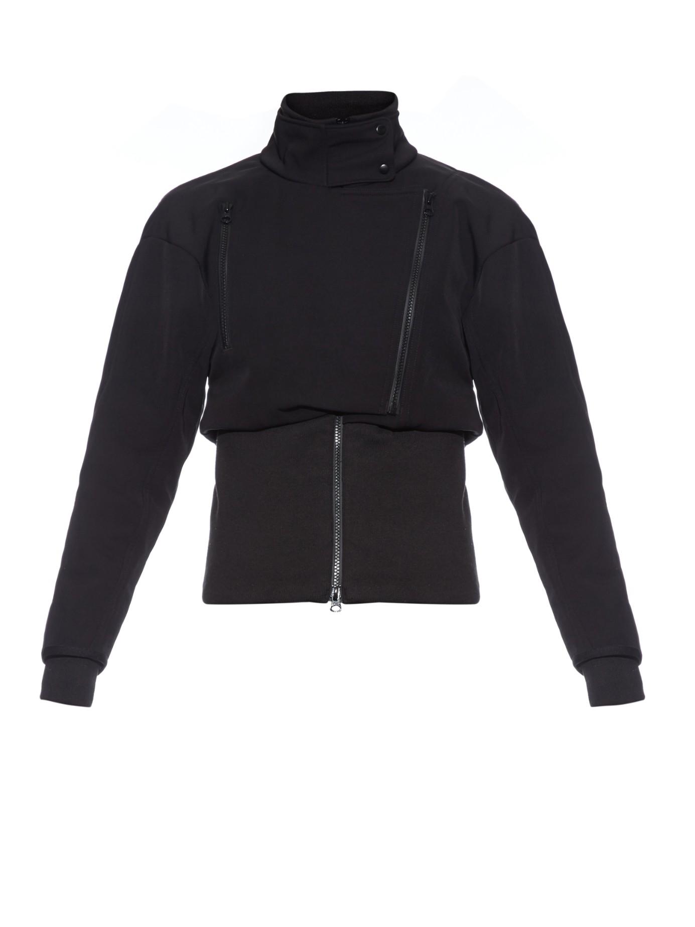b58f398c01 Lyst - adidas By Stella McCartney Slim Ski Jacket in Black