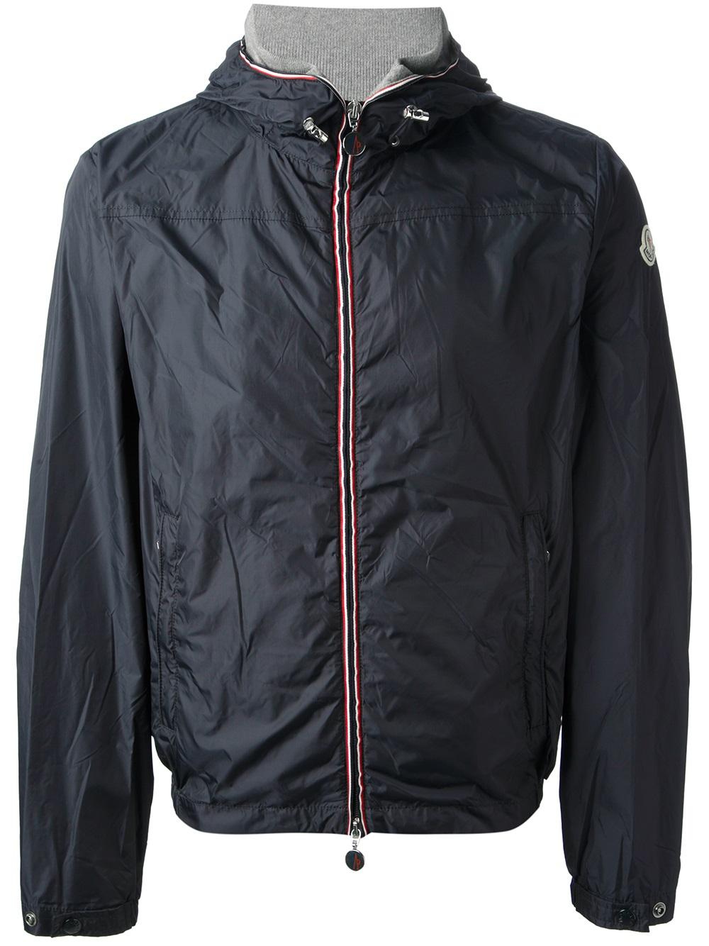 Lyst Moncler Urville Jacket In Blue For Men