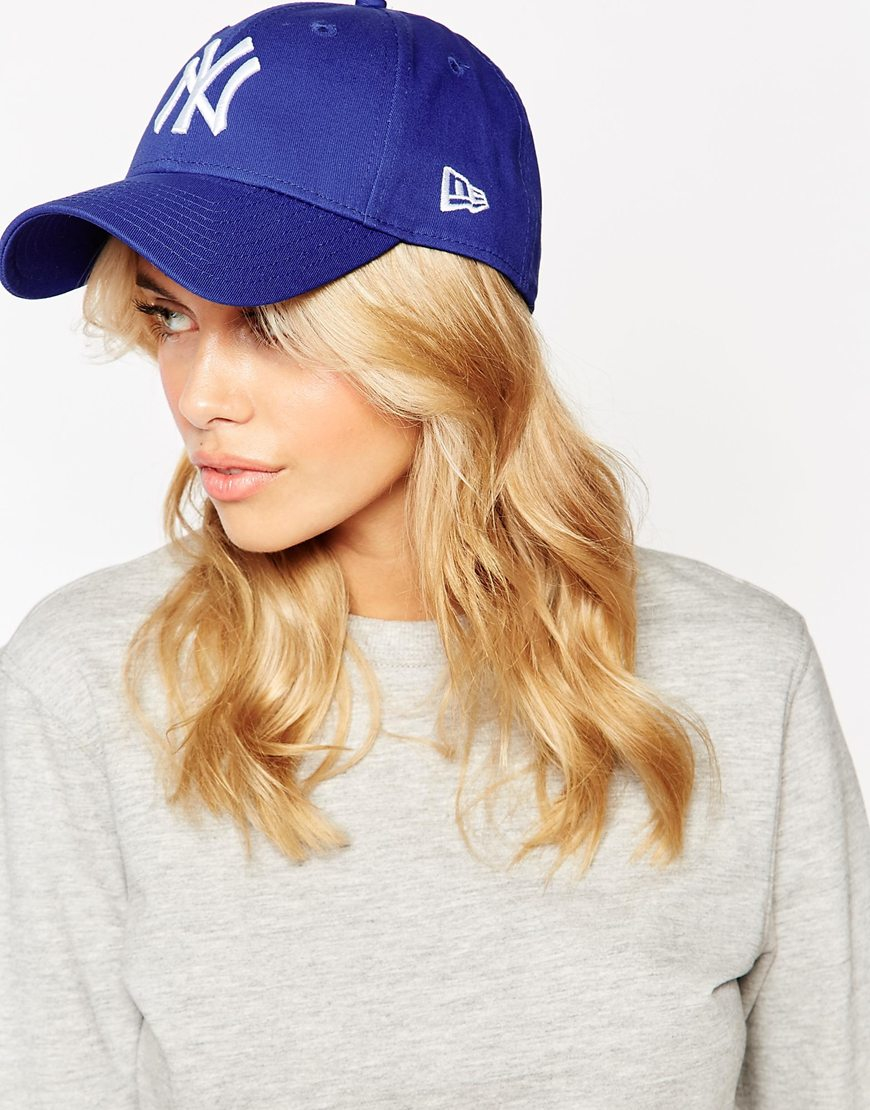 18a3858eff9 Lyst - KTZ 9forty Ny Navy Cap in Blue