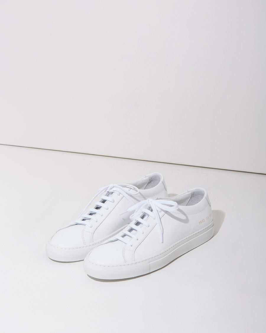 common projects original achilles low top sneakers in white for men lyst. Black Bedroom Furniture Sets. Home Design Ideas