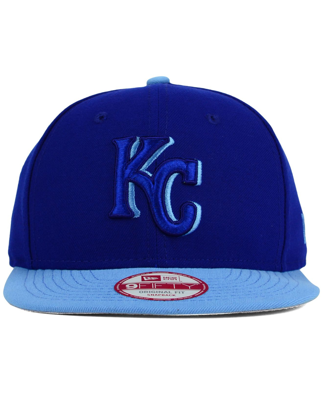 best loved c8f84 f03c6 Lyst - KTZ Kansas City Royals Shadow Slice 9fifty Snapback Cap in ...