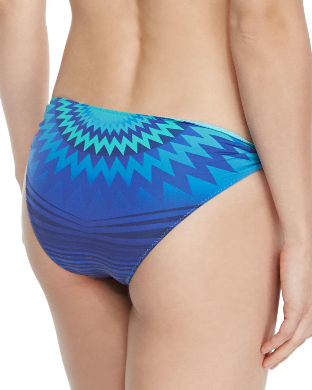 76cf2cb7220 Clube Bossa Printed Ring-side Swim Bottom in Blue - Lyst