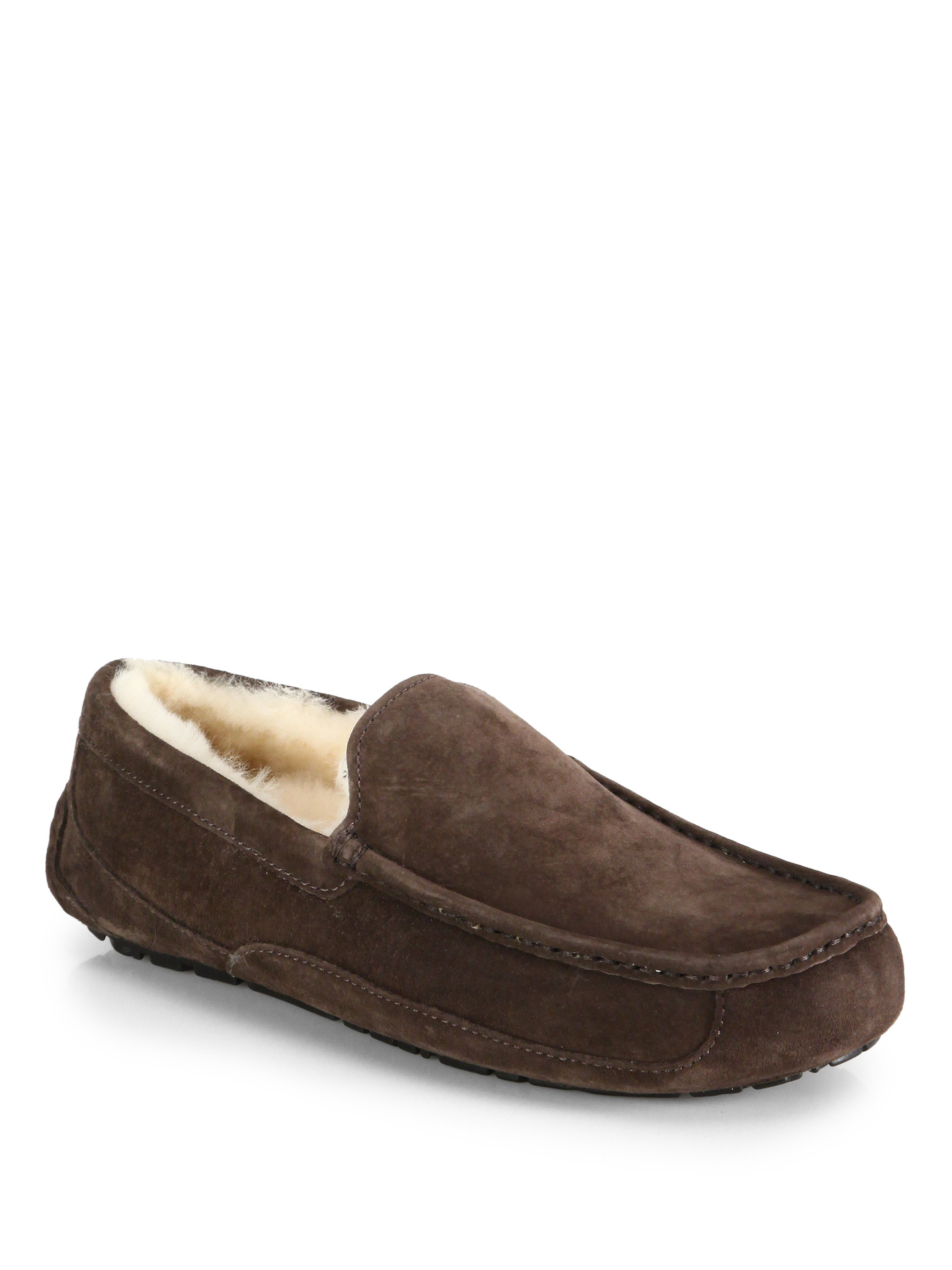 1a0c3ea7833 Ugg Australia Mens Ascot Indoor Outdoor Suede Slippers - cheap ...