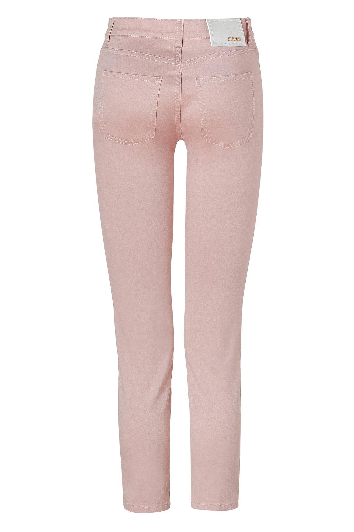 Lyst Emilio Pucci Blush Skinny Jeans In Pink