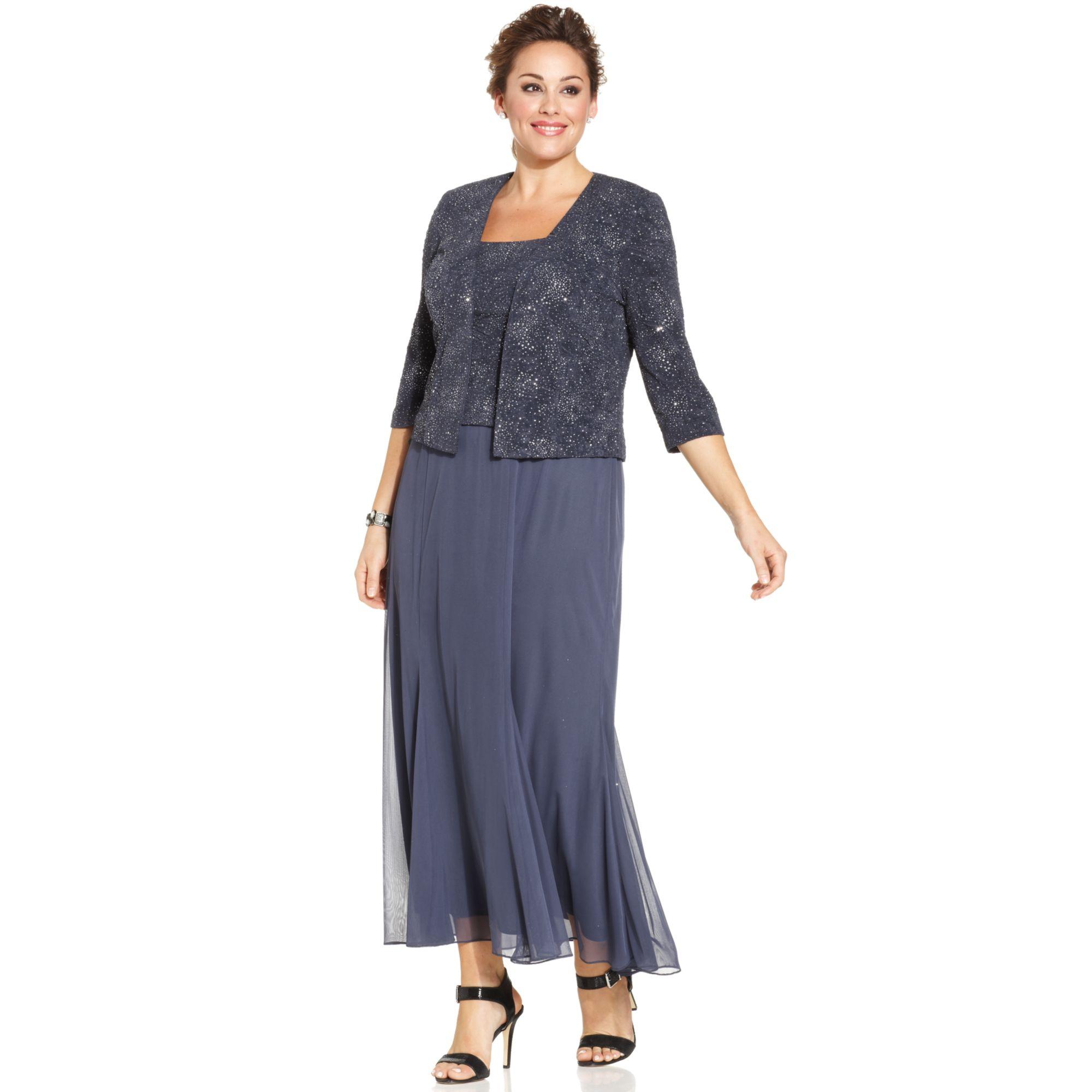 Macy\'s Alex Evenings Dress – Fashion dresses
