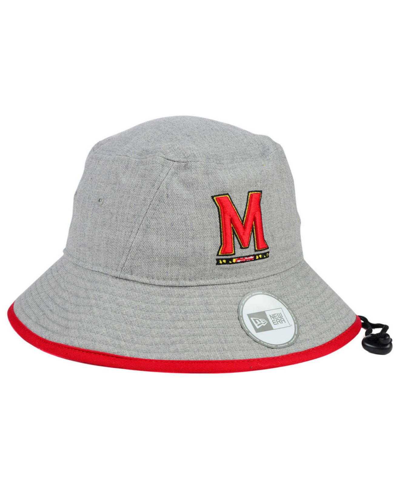 fdb3227949c Lyst - KTZ Maryland Terrapins Tip Bucket Hat in Gray for Men