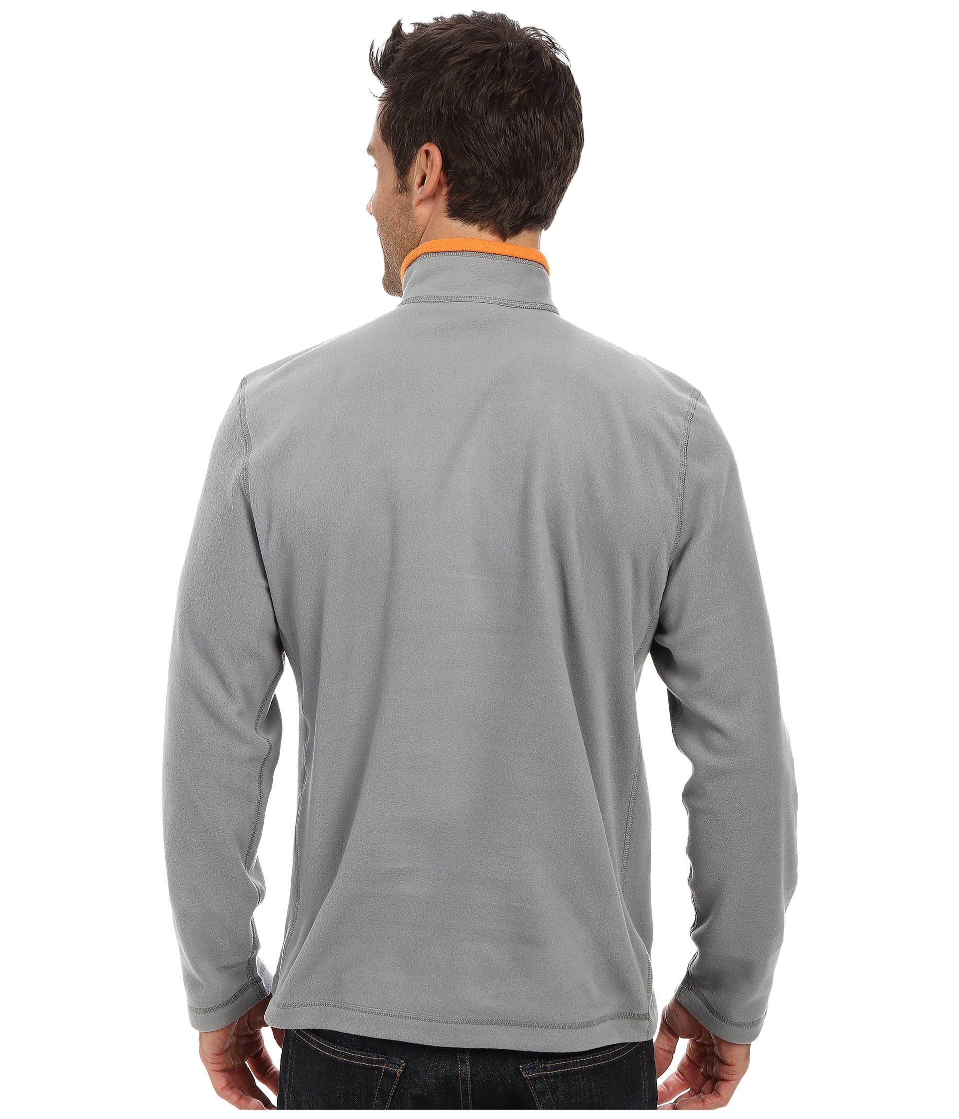 d56c1b0f6f5a Lyst - The North Face Tka 100 Glacier 1 4 Zip in Gray for Men