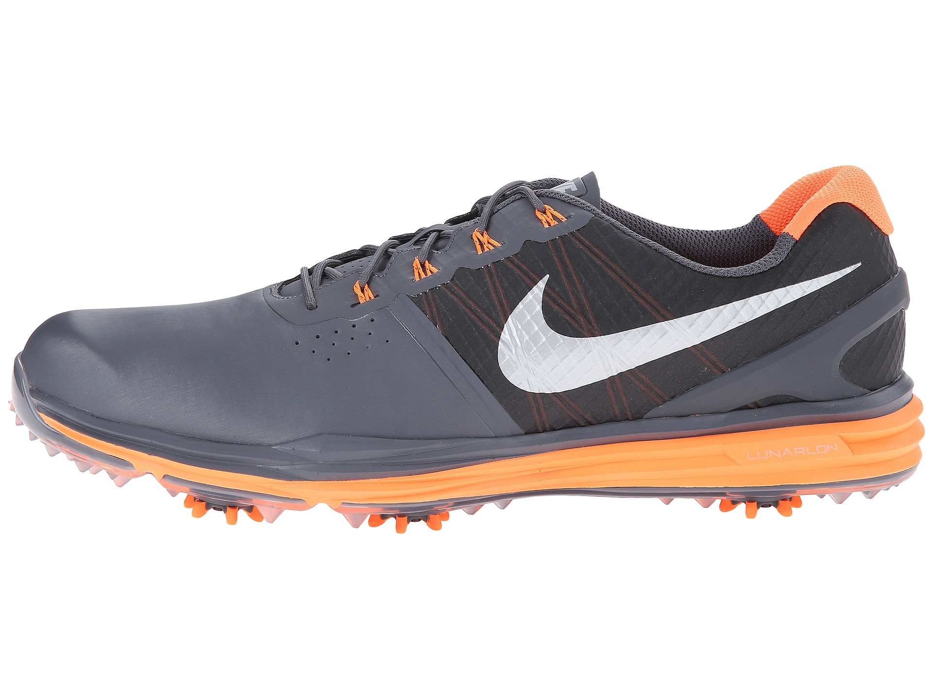 Nike Lunar Control  Golf Shoes Orange