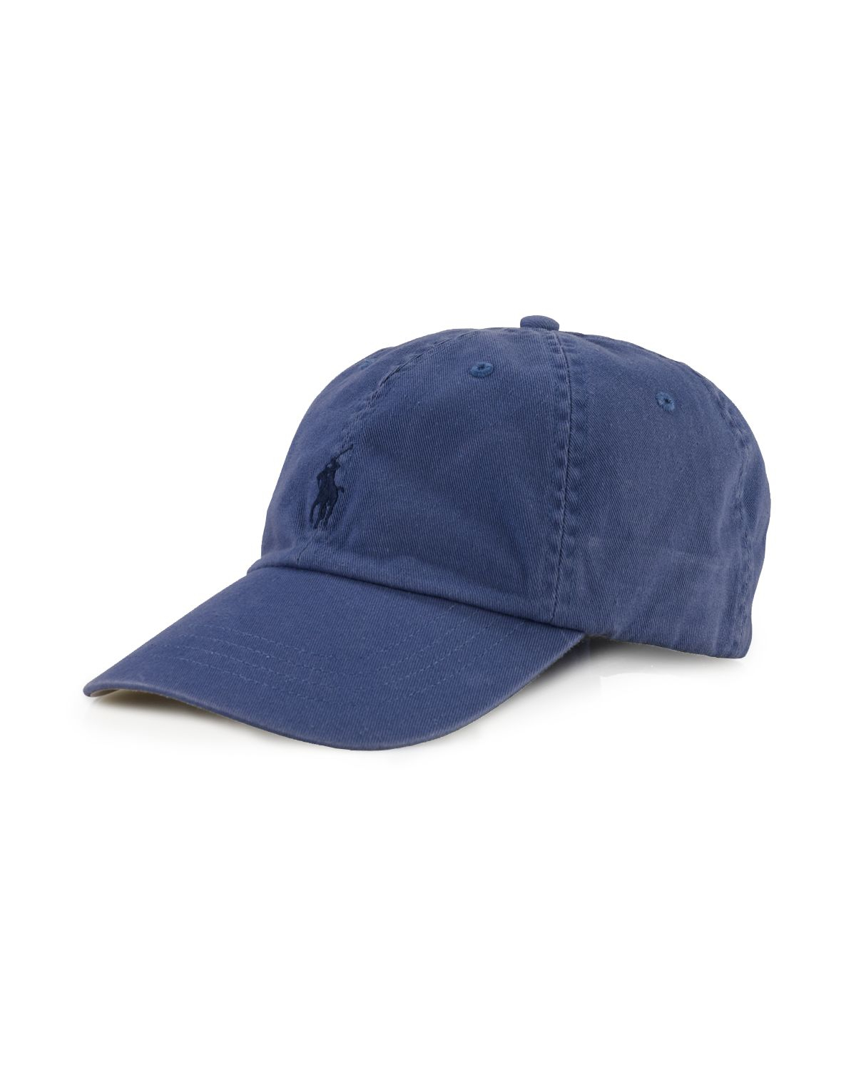polo ralph lauren signature pony hat in blue for men lyst. Black Bedroom Furniture Sets. Home Design Ideas