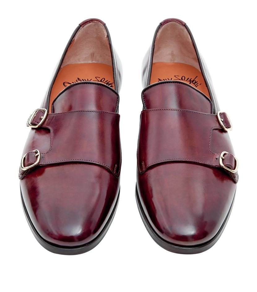 monk shoes - Brown Santoni Cheap And Nice Buy Cheap Cheap Discount Sast Best Store To Get eZaWXJ5A4