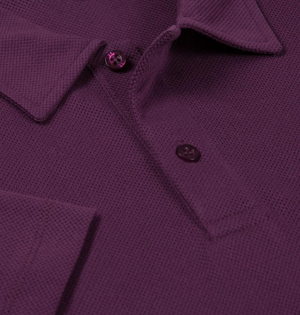 9c80373d1 Sunspel Riviera Polo Shirt in Purple for Men - Lyst