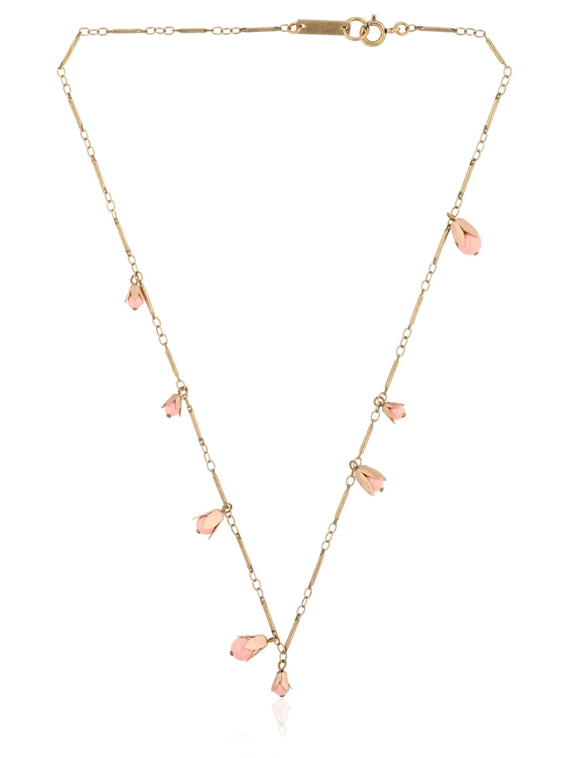 Isabel Marant Fes Necklace in Metallics,White