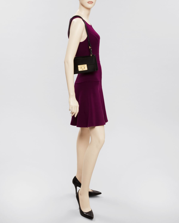 7587b7b170b8 Lyst - Ferragamo Shoulder Bag - Aileen Mini in Red