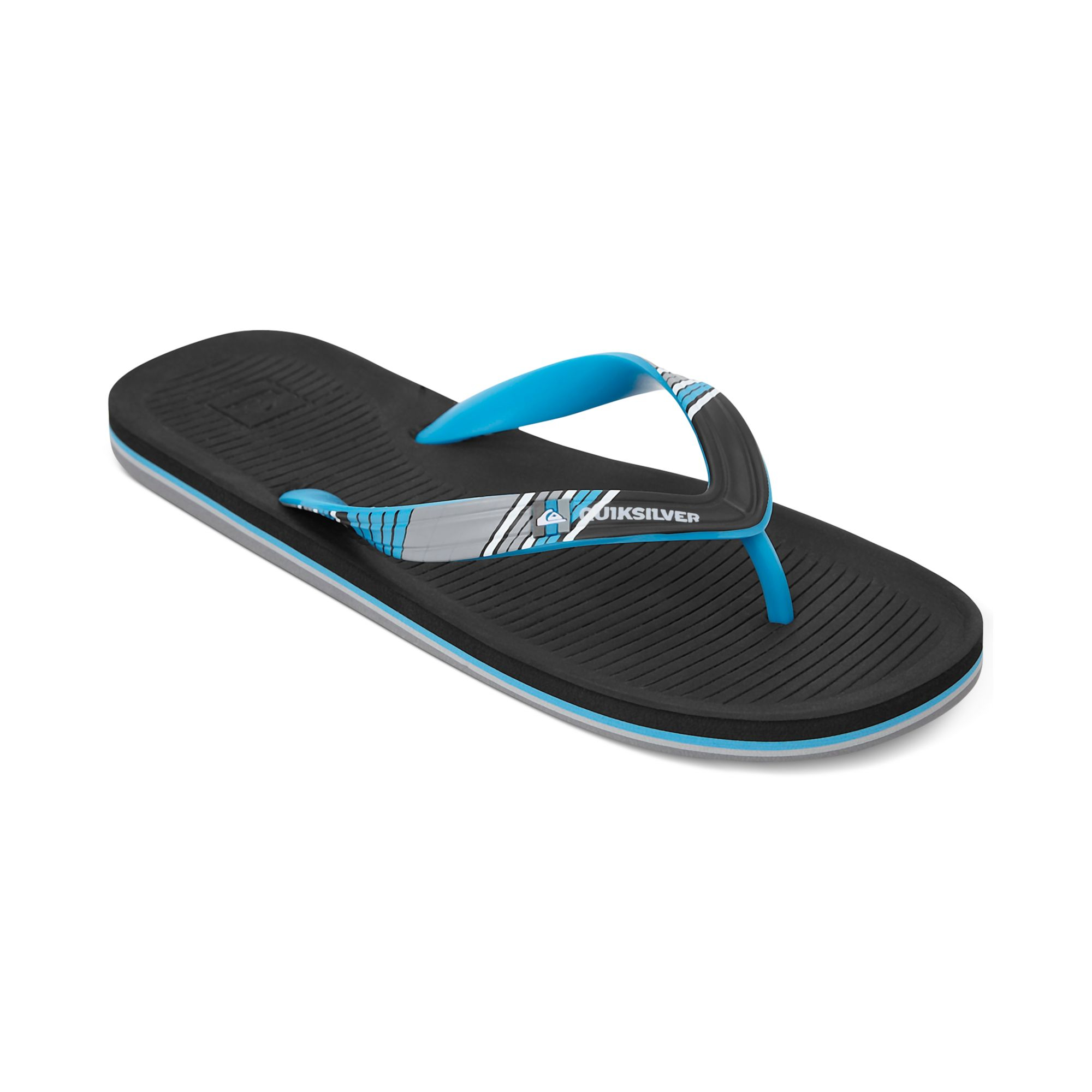 1432f524615 Lyst - Quiksilver Haleiwa Print Sandals in Blue for Men