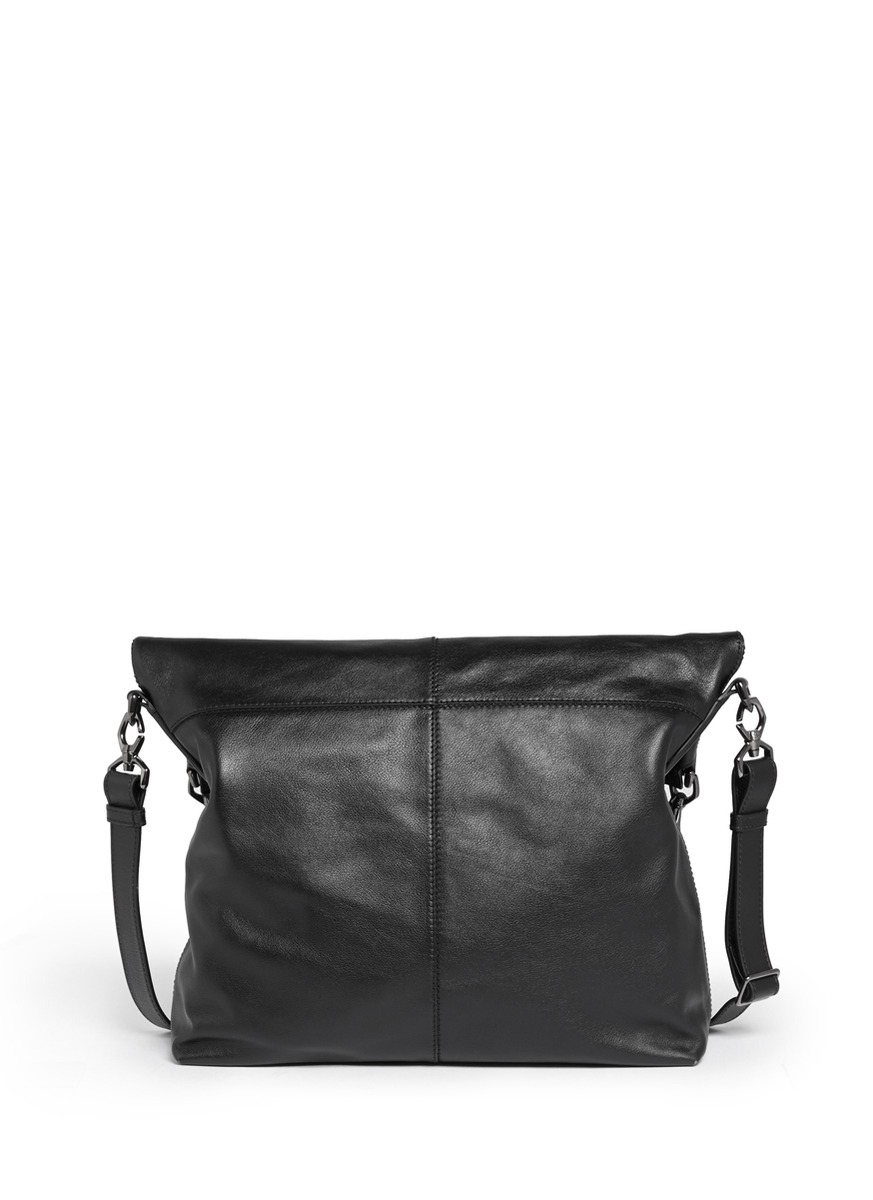 Lyst - Givenchy  nightingale  Fold-over Convertible Bag in Black a4c0748d274a7