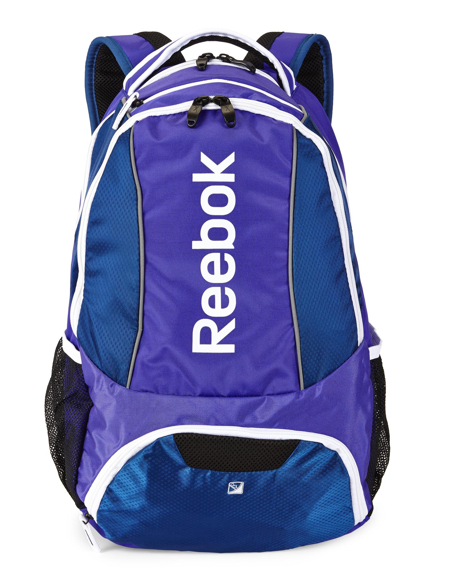 Lyst - Reebok Purple & Blue Tornado Backpack in Purple  |Reebok Backpack