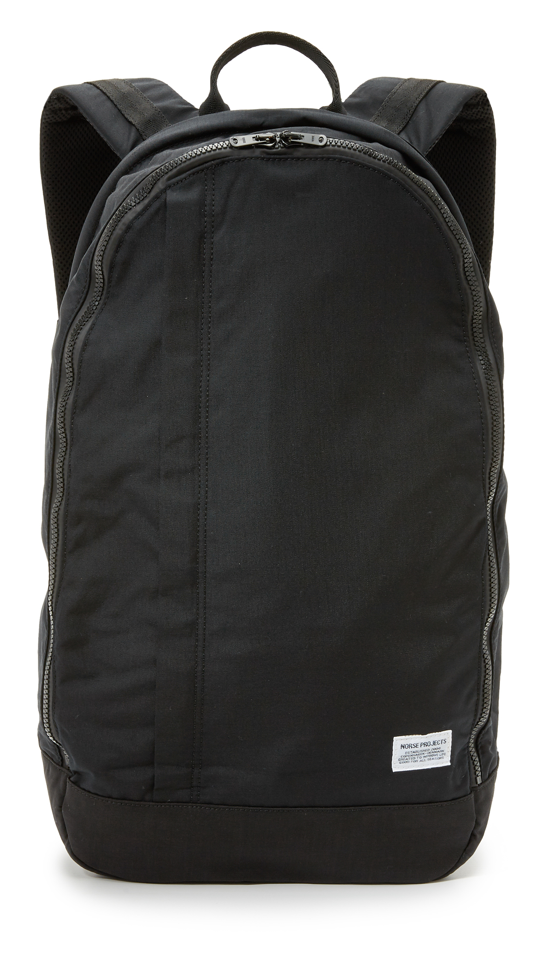 30937dffa13 Norse Projects Einar Backpack in Black for Men - Lyst