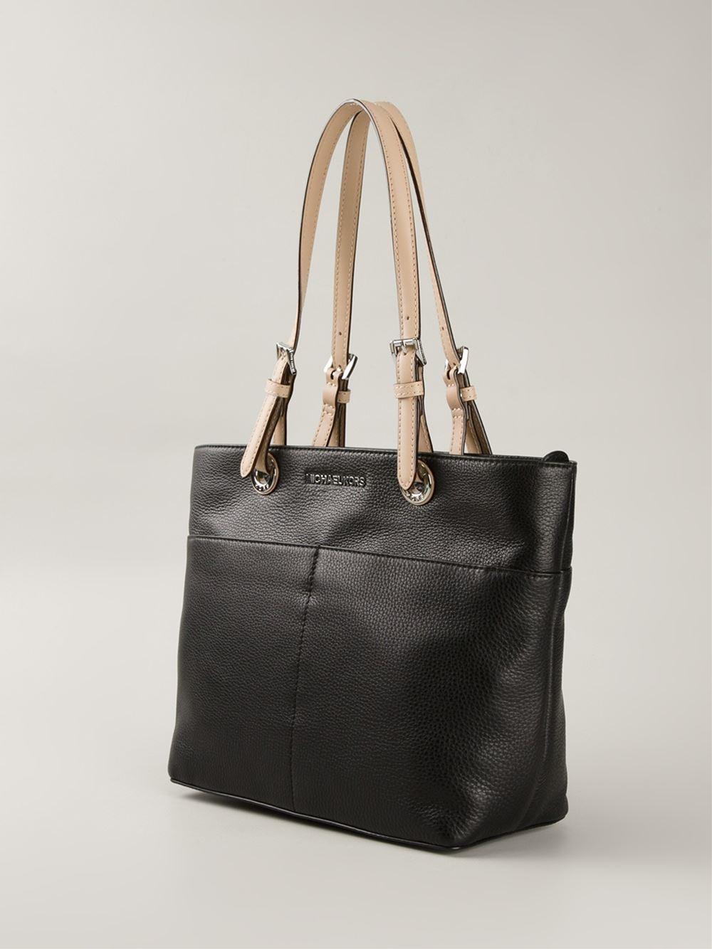 2ed982cb701d ... shopping lyst michael michael kors bedford tote bag in black bb028 a313d
