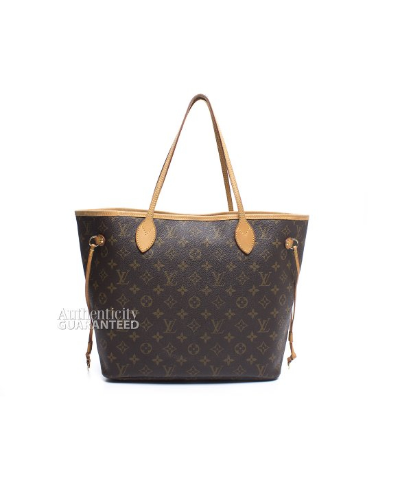 Louis Vuitton Trash Bags Gallery Louis Vuitton Pre Owned Monogram Canvas Neverfull Mm Bag In Brown