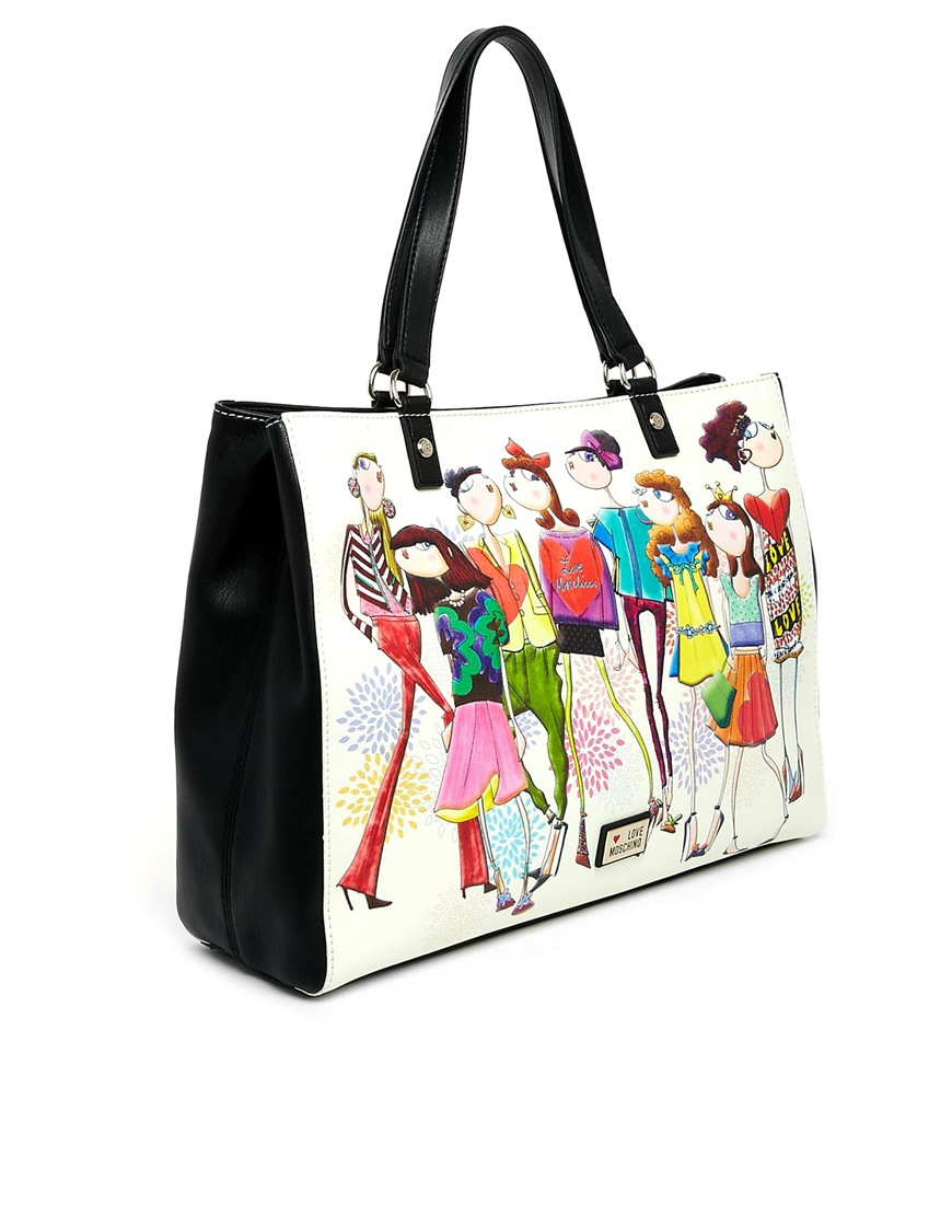 1894132962e2d Love Moschino Charming Girls Shopper Bag - Lyst