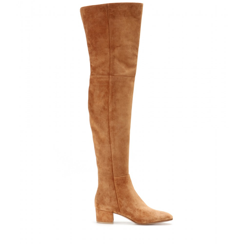 brown suede the knee boots 28 images giuseppe zanotti