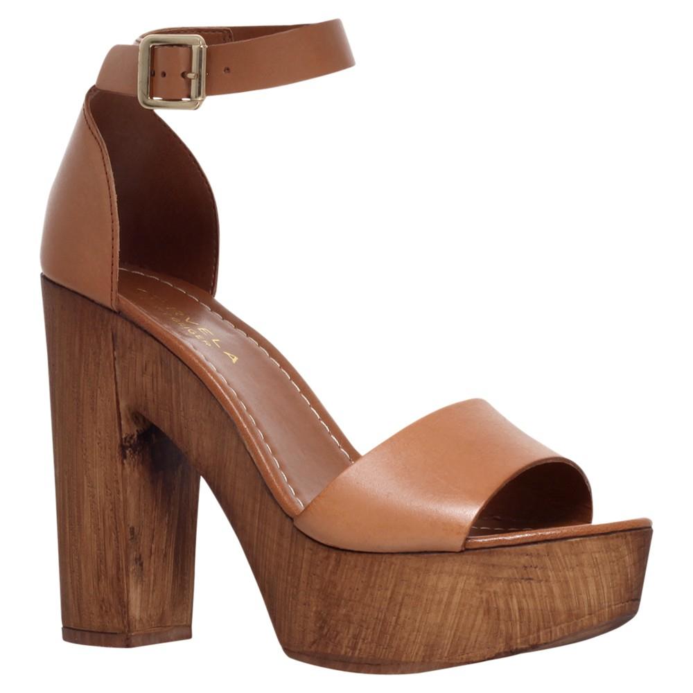 Carvela Kurt Geiger Kara Leather Platform Block Heel Sandals in ...