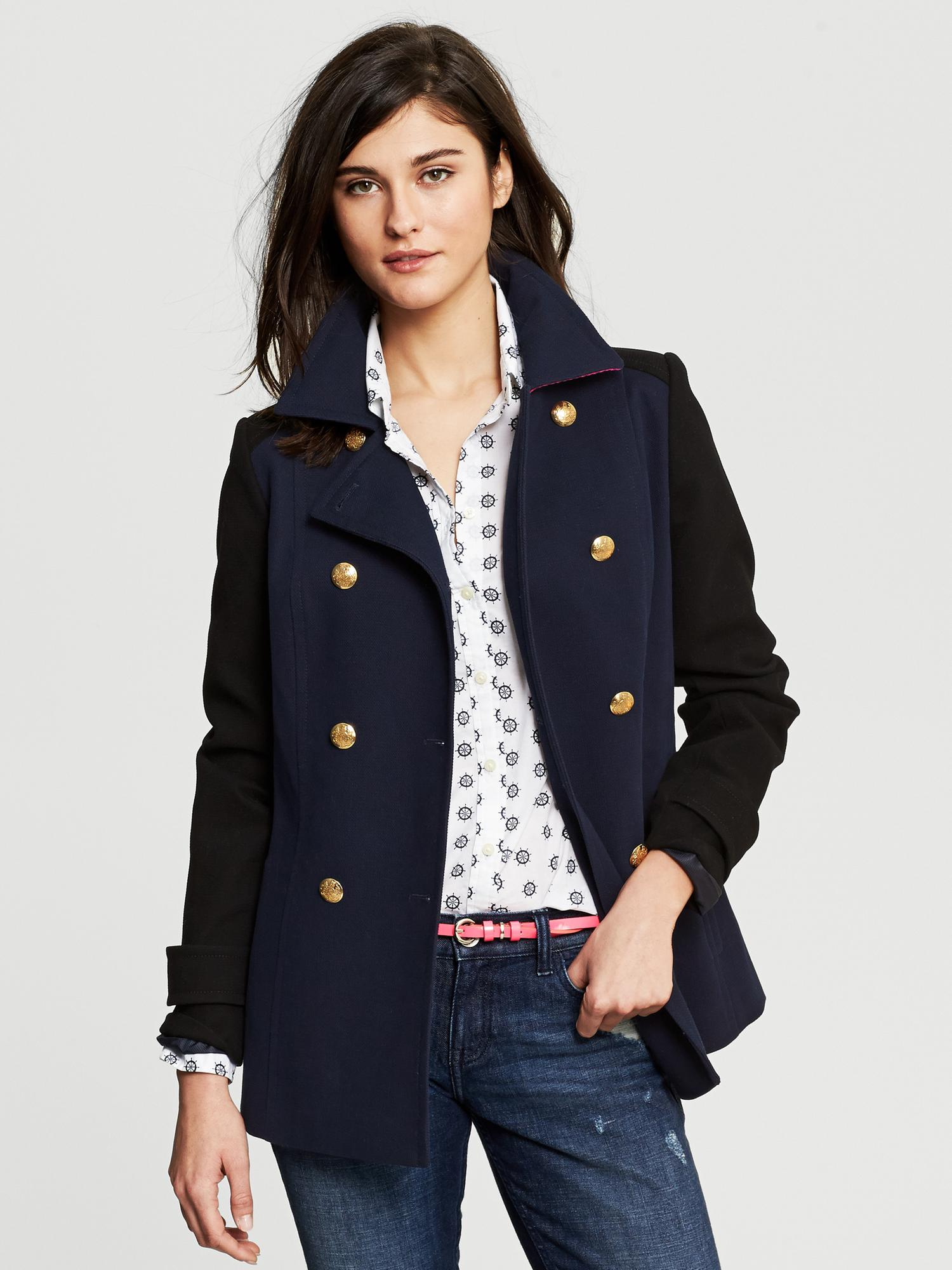 Women's Banana Republic Coats Established in and overhauled by Gap in , Banana Republic is the go-to for finger-on-the-pulse fashionistas who are keen on spending that little bit more on everyday, luxury essentials.