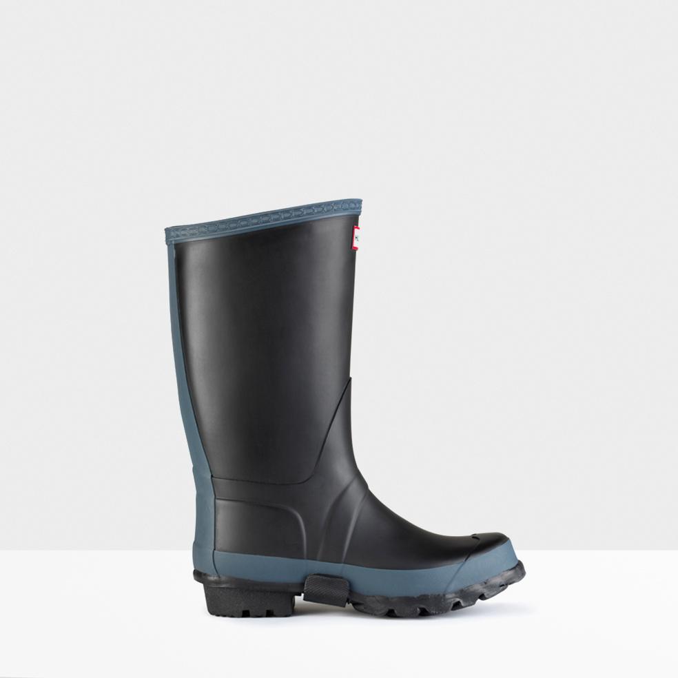 Hunter Original Garden Boots In Black Lyst