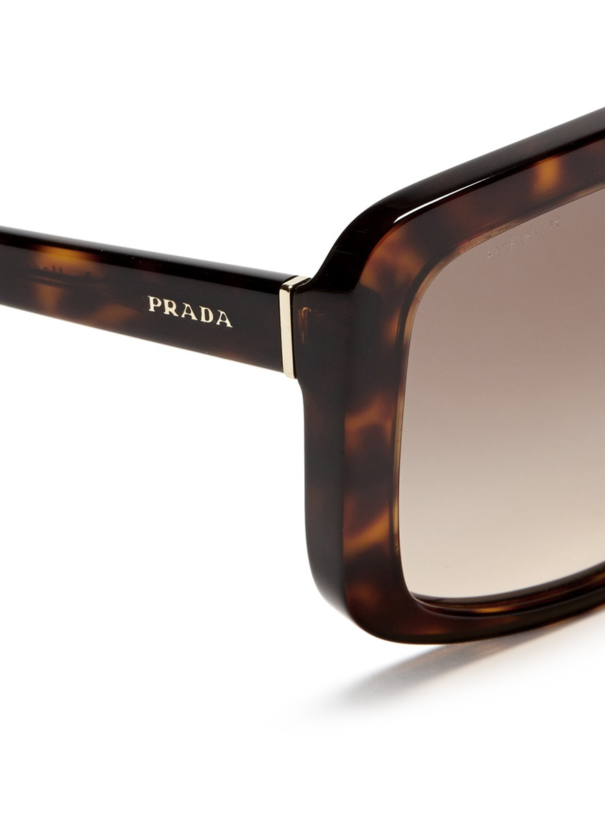 Prada Sunglasses Leopard Print