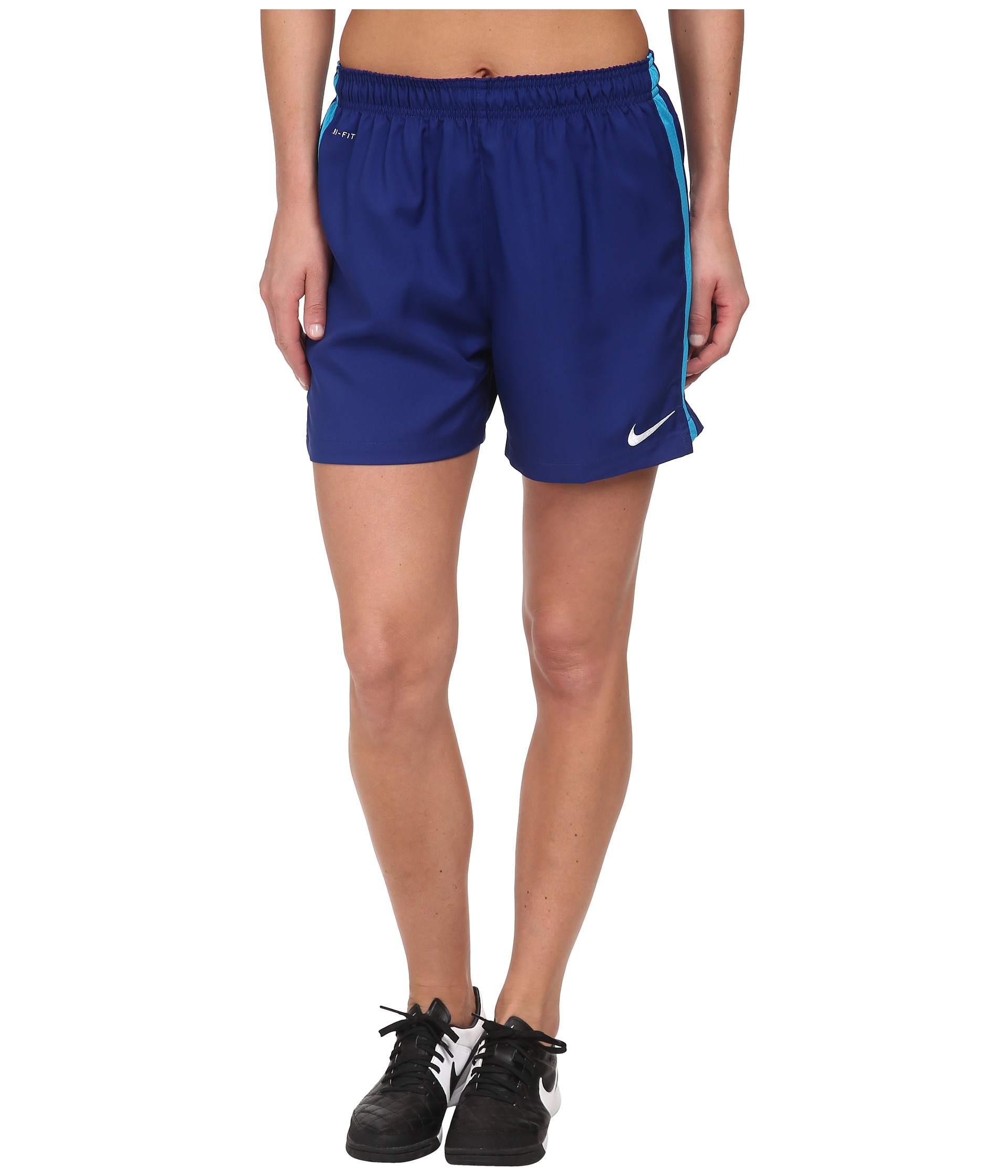 Lyst - Nike Dri-Fit™ Squad Woven Short in Blue beaa2a6e45a6d