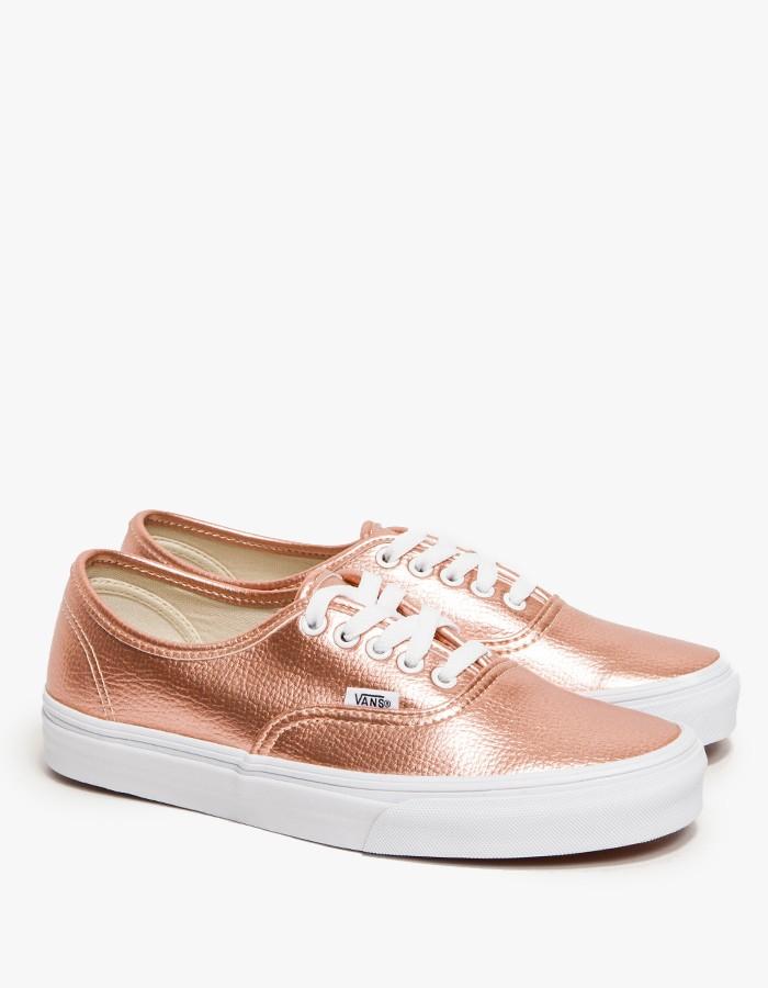Pink Canvas Shoes Men