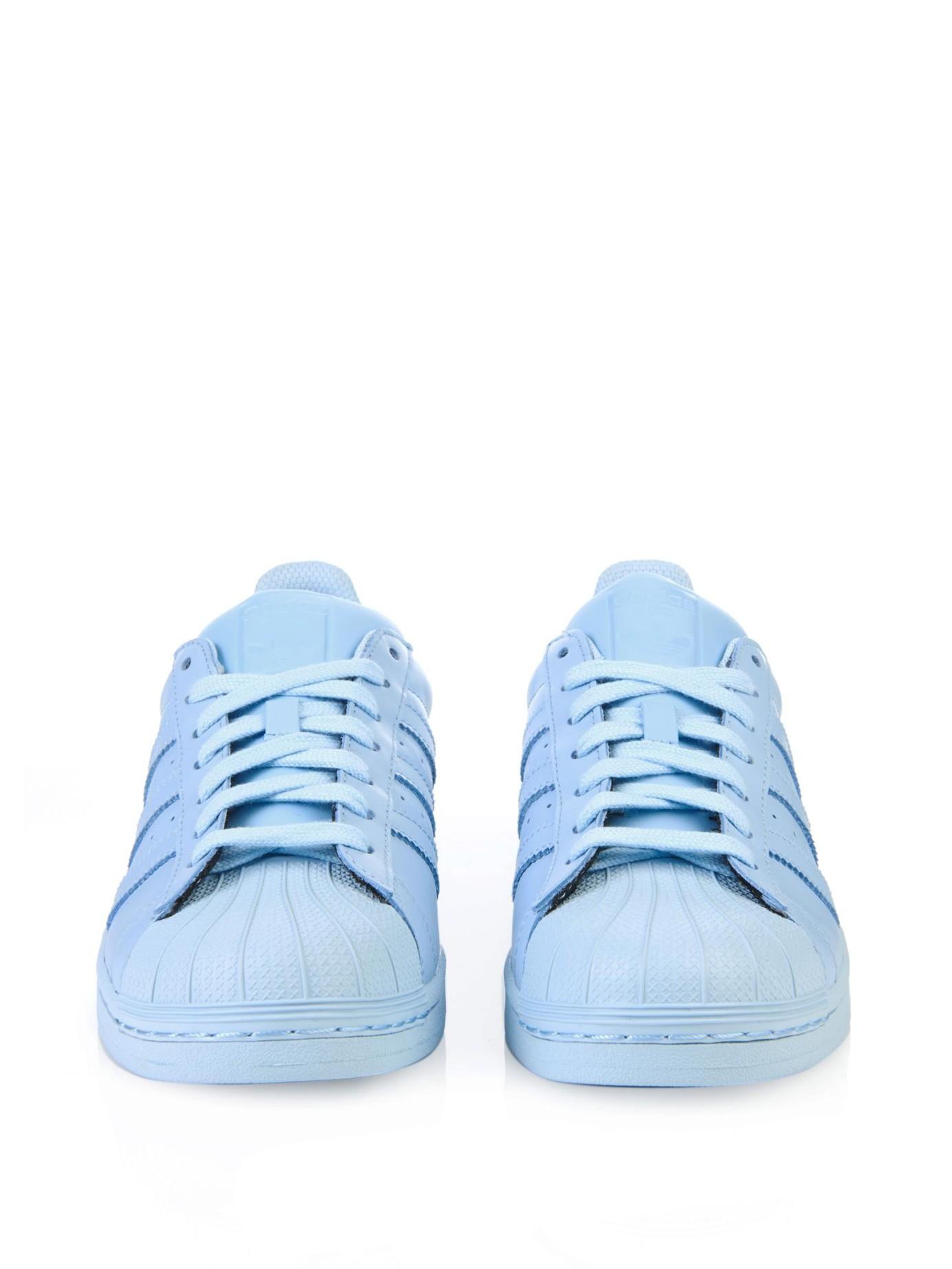 50% off adidas superstar supercolor clear blue 6b3ab 724ba
