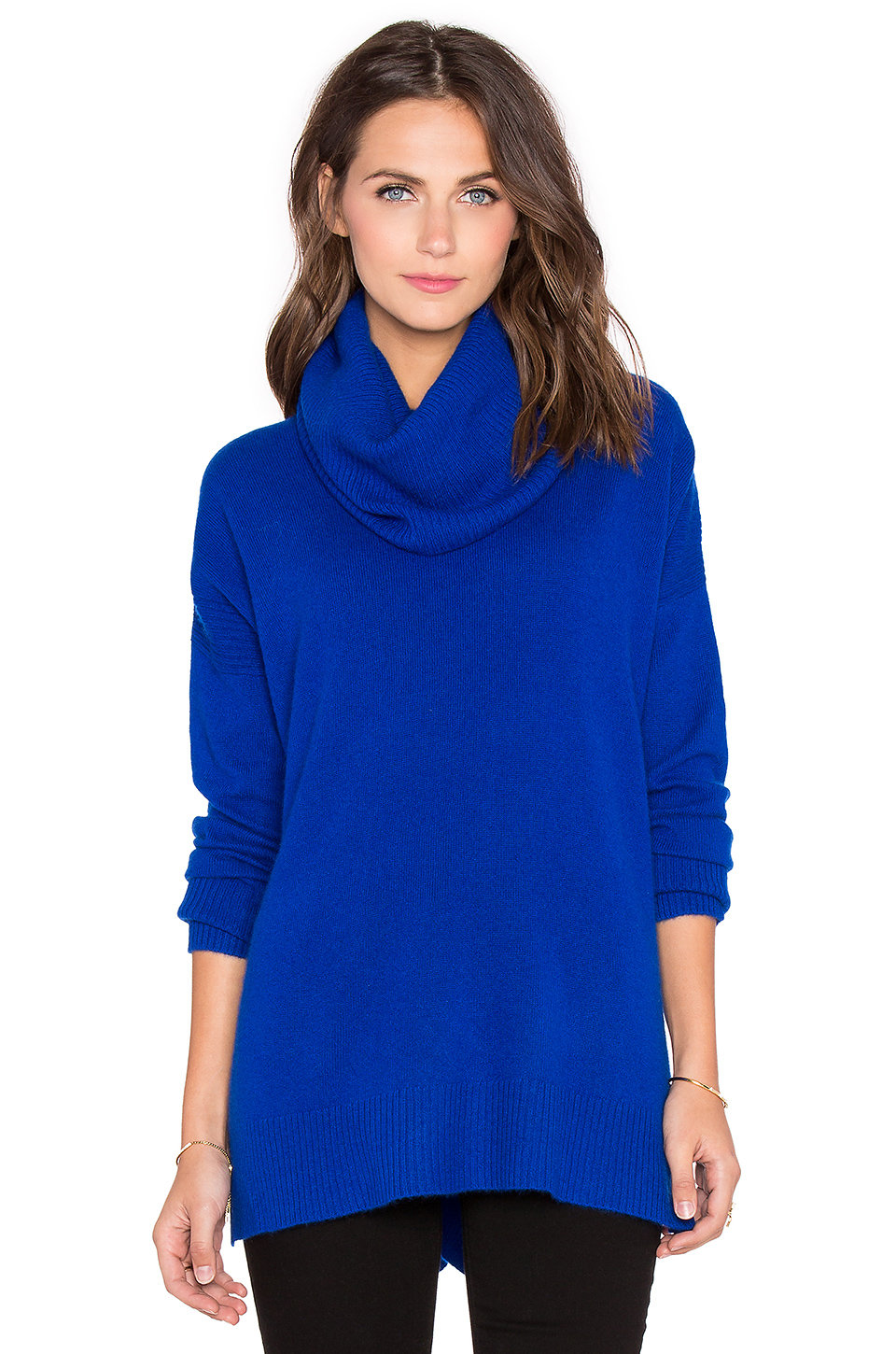 Diane von furstenberg Ahiga Slim 2 Cashmere Turtleneck Sweater in ...