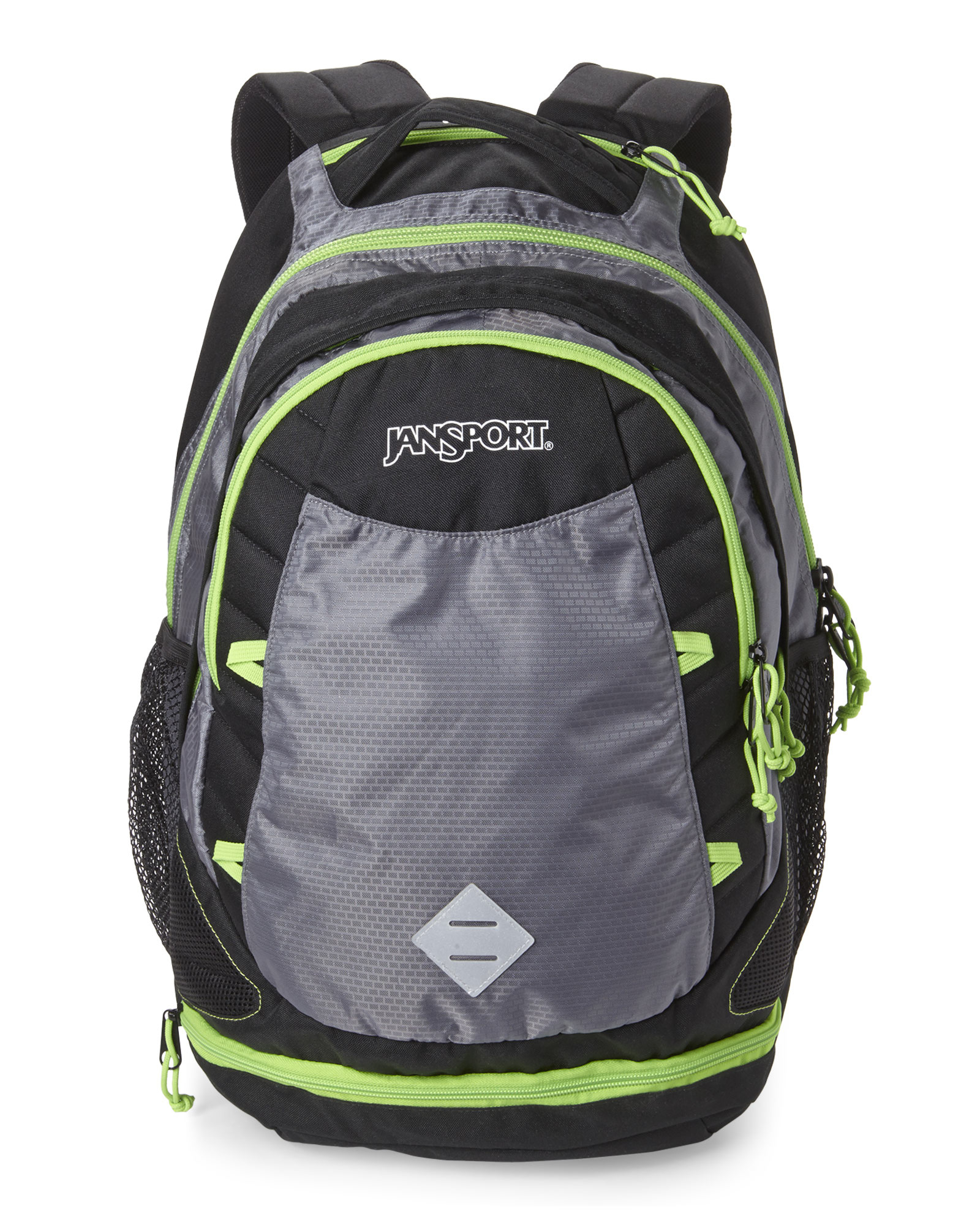 Jansport Grey & Green Boost Backpack in Black for Men | Lyst