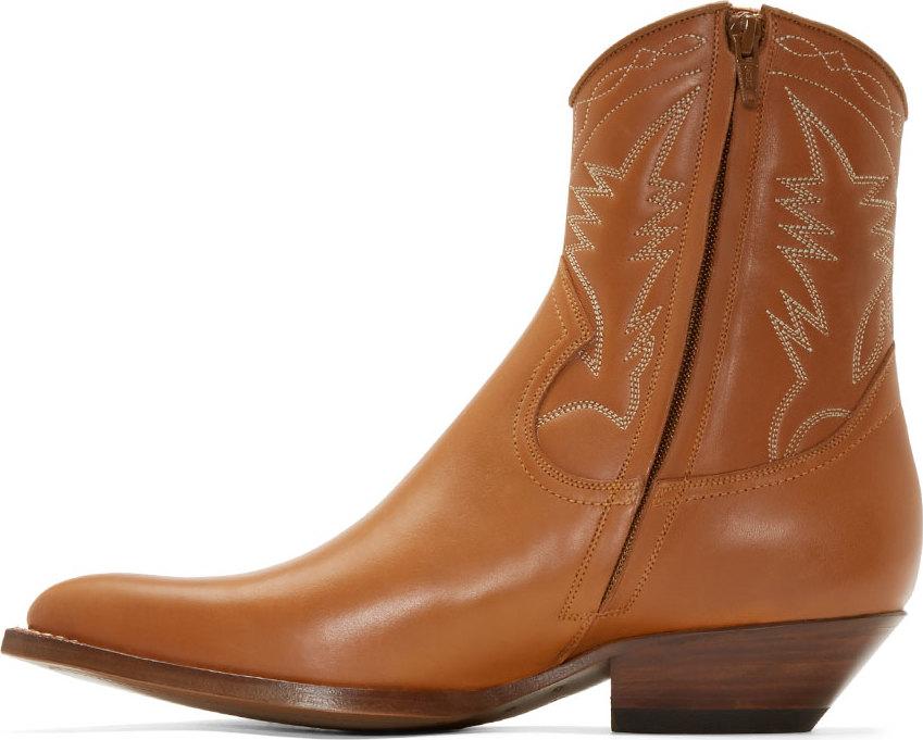 Laurent Santiag Saint Cowboy Cognac In Western Boots Urban nwXNOP8k0