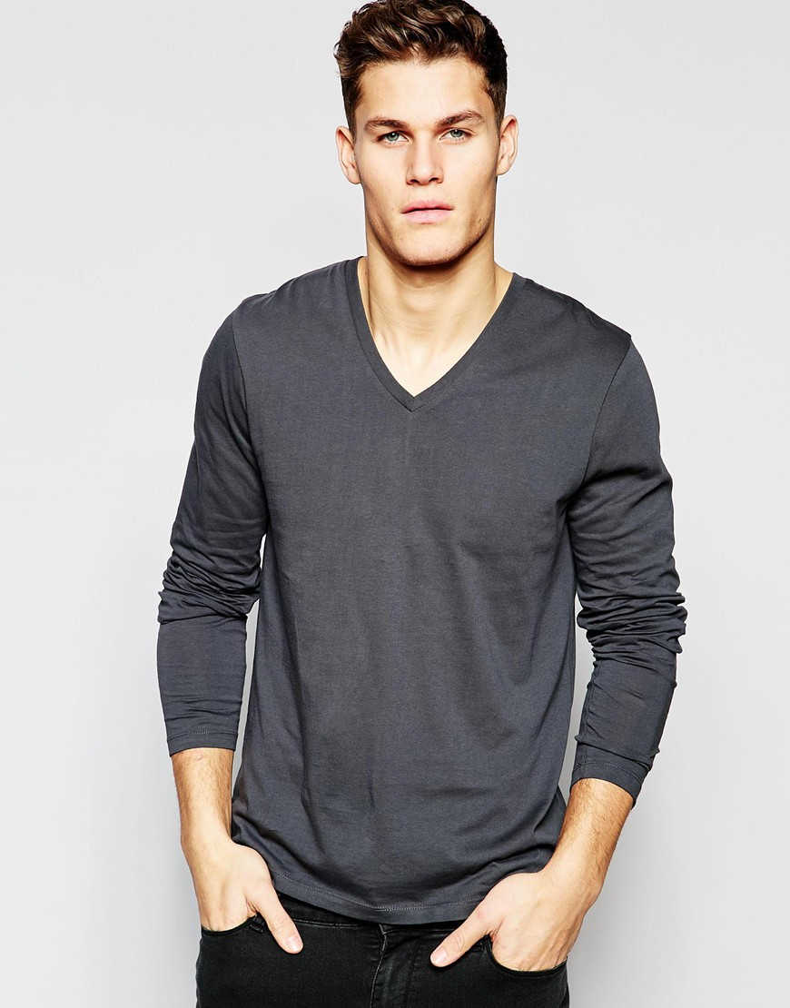 Long Sleeve V Neck Tops. invalid category id. Long Sleeve V Neck Tops. Showing 40 of results that match your query. Search Product Result. Product - Straight Outta New Haven Black Womens Long Sleeve T-Shirt. Product Image. Price $ Product Title.
