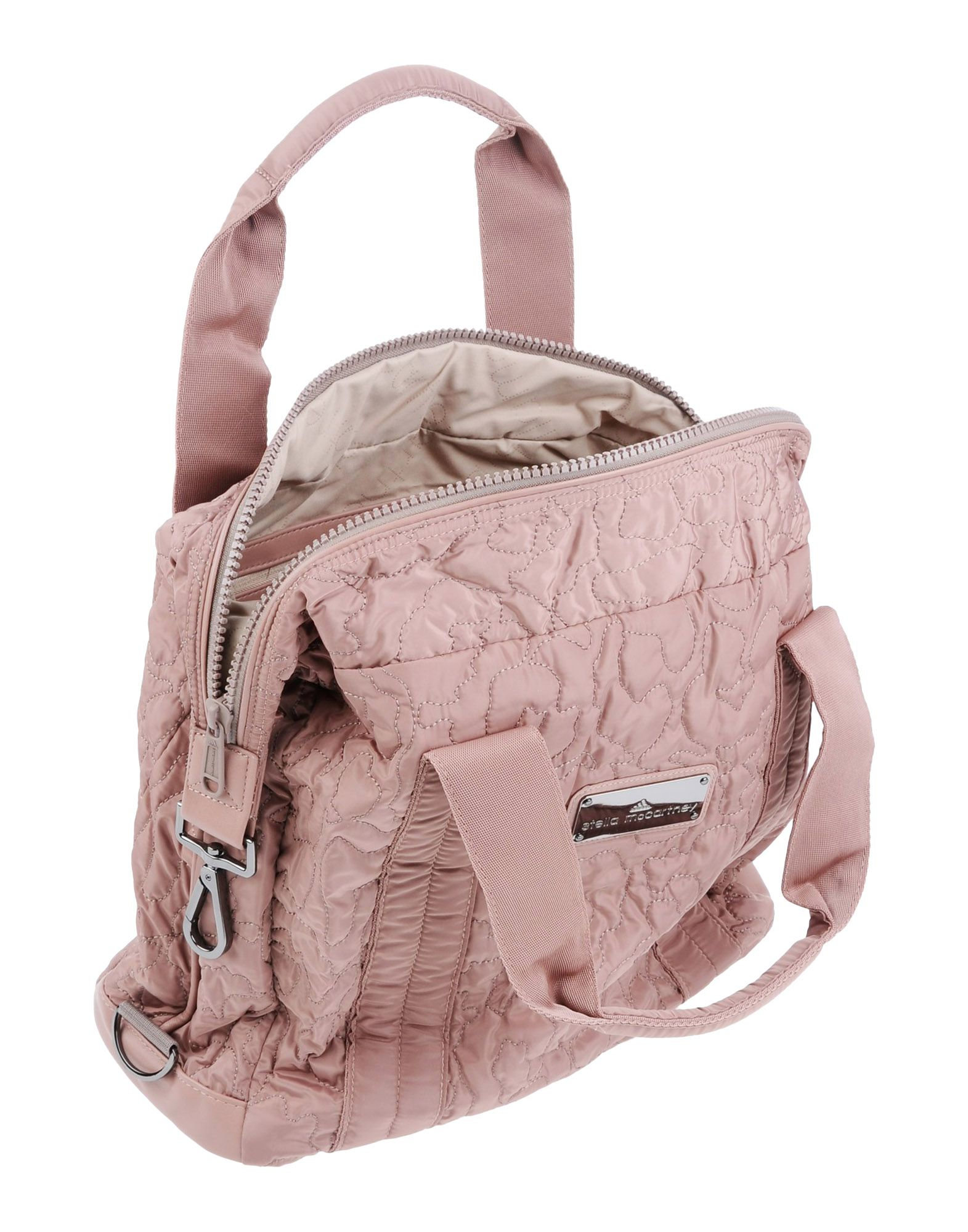 adidas By Stella McCartney Medium Quilted Gym Bag in Pink - Lyst 02a552acce