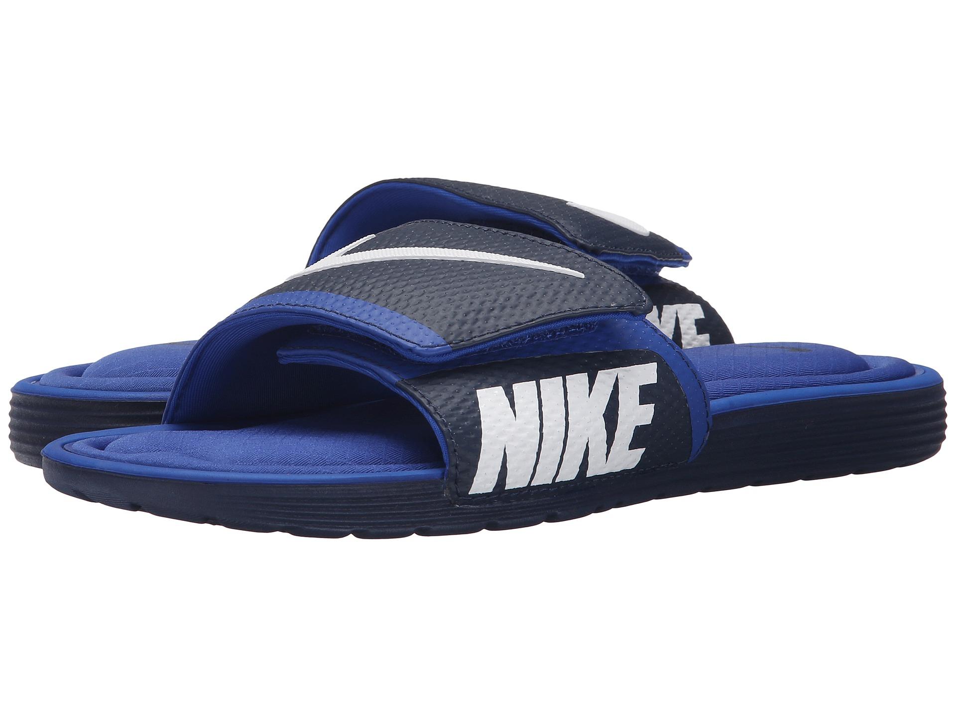 c1f4c406b4f Lyst - Nike Solarsoft Comfort Slide in Blue for Men