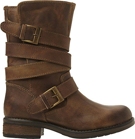 steve madden kindell leather biker boots for in