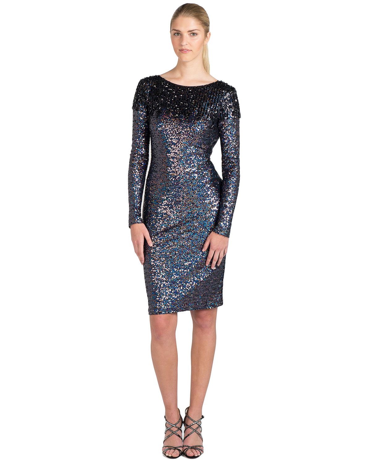 Boost Girl Wearing Yeezys furthermore Philipp Plein Dress Knit moreover Purple Sequin Cocktail Dress in addition LaLa Anthony Style likewise Rihanna Street Style 2015. on t by alexander wang black dress