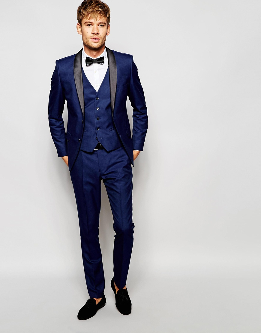 Men Blue Skinny Jeans