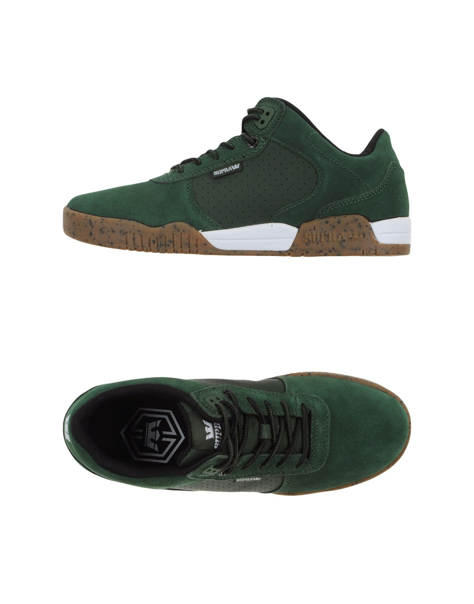 Supra Low Tops Leather Shoes