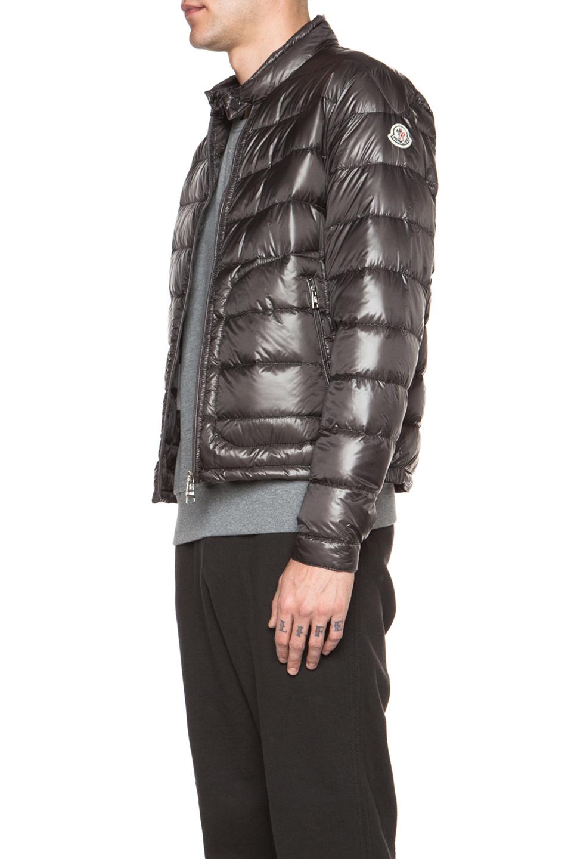 moncler silver jacket