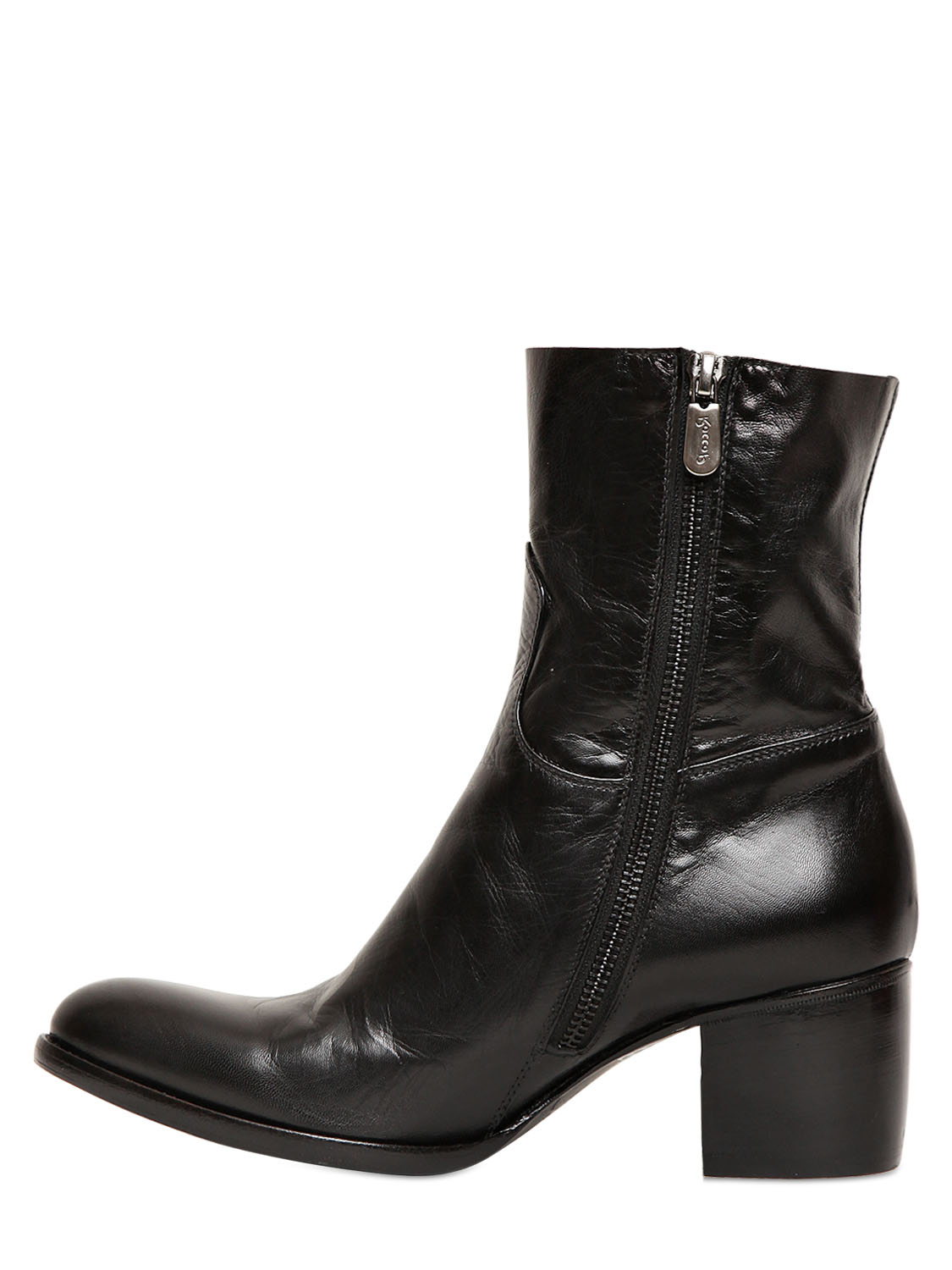 ROCCO P. Back zip ankle boots CgGDBP