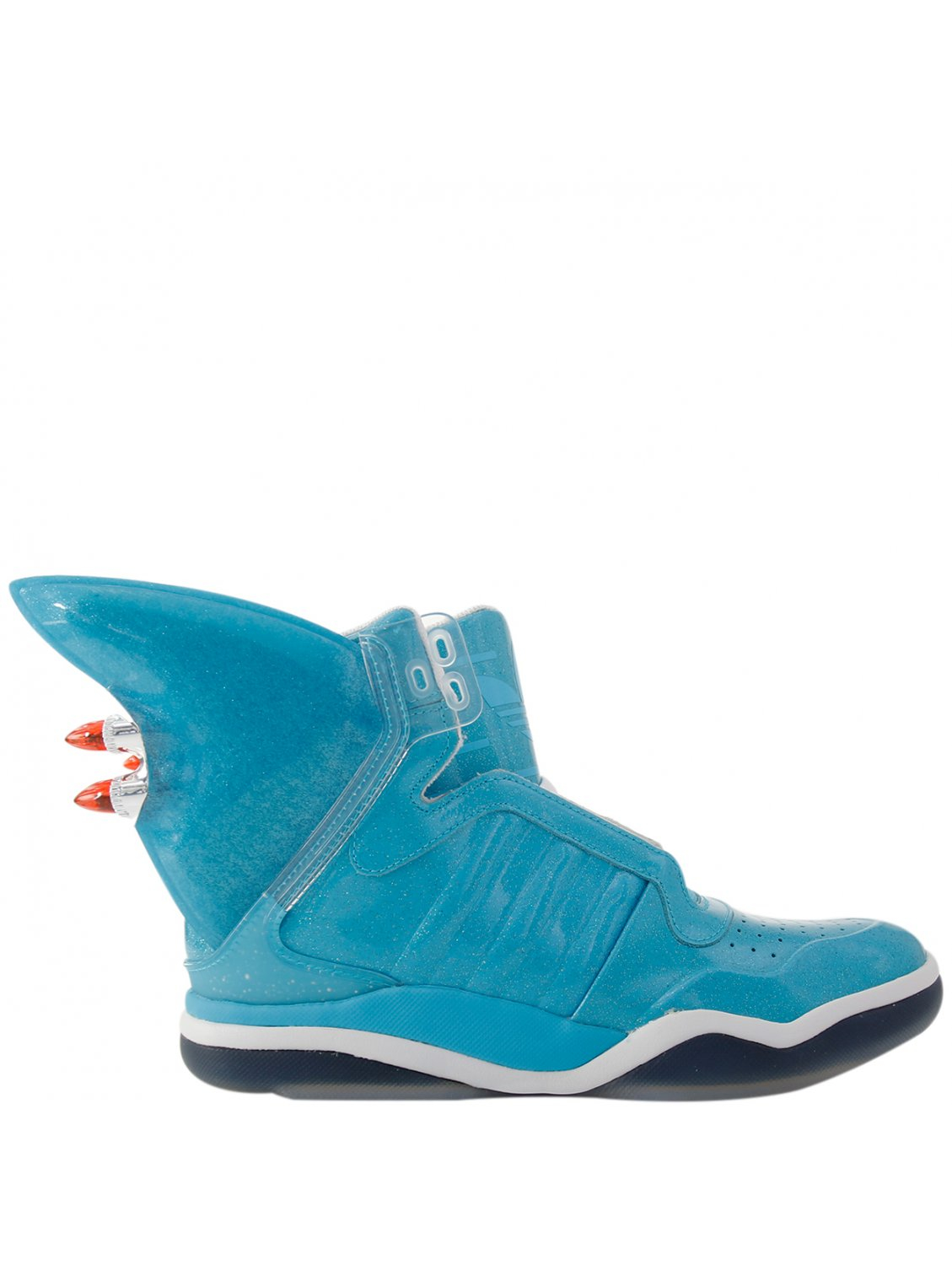 c2a73cf9d33f Jeremy Scott for adidas Jeremy Scott X Adidas Shark Hi-top Trainers ...